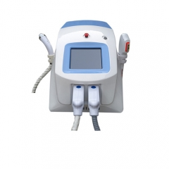 IPL OPT SHR and bipolar RF hair removal machine