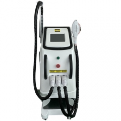 IPL OPT SHR+Nd yag laser+RF